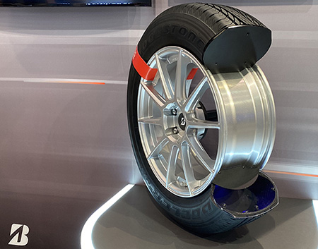 Bridgestone technological advancement