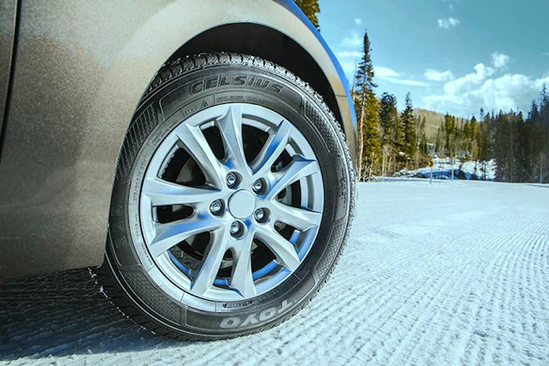 toyo celsius tire in the snow