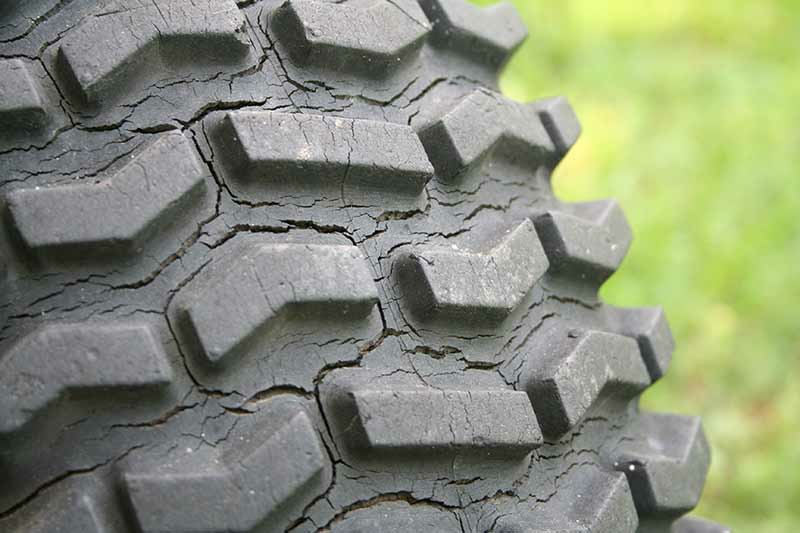 Dry rot on tires