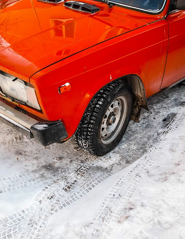 Low tire pressure in cold weather