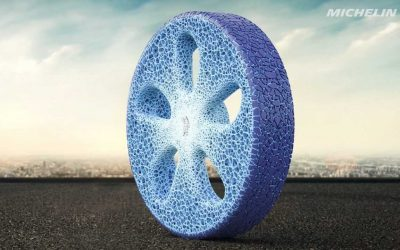 Michelin tires are 100 percent sustainable by 2050