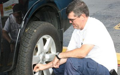 Over inflated tires – How bad Is it? and Is it safe to drive?
