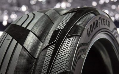 What special properties does a tire for an electric car have to have?