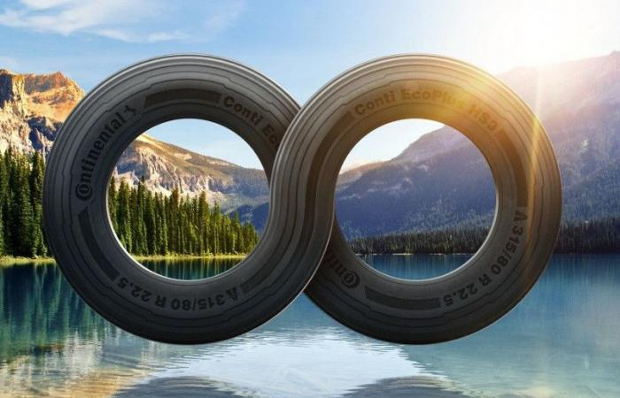 tires from recycled plastic bottles