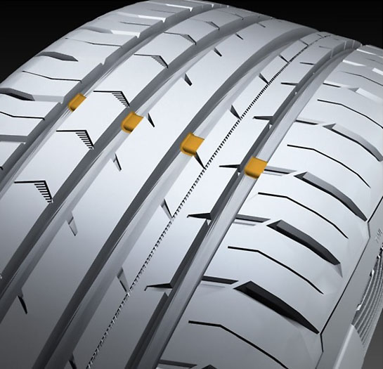 what is tire wear bars